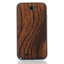 Samsung Galaxy Note 2 N7100 - Rear cover - Wood / black