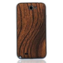 Samsung Galaxy Note 2 N7100 - Zadní kryt baterie - Dřevo / černá
