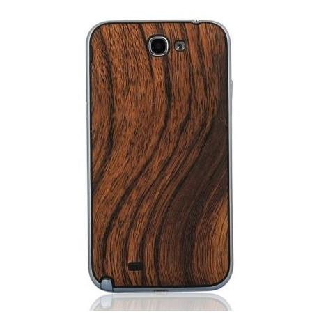 Samsung Galaxy Note 2 N7100 - Rear cover - Wood / black