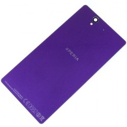 Zadný kryt batérie Sony Xperia Z L36 / L36H / C6603 / C6602 / LT36 - fialový