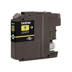 Brother LC-121Y - originální cartridge
