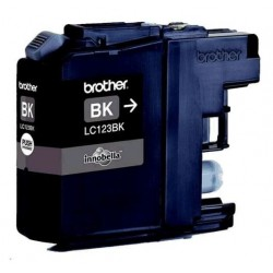Brother LC-123BK - originální cartridge