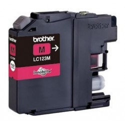 Brother LC-123M - originální cartridge