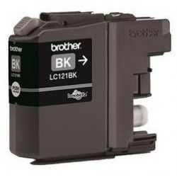 Brother LC-121BK - originální cartridge