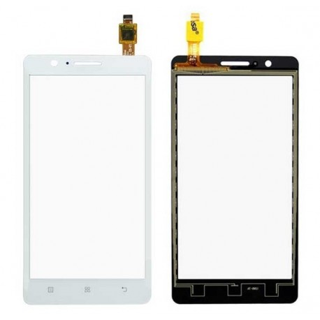 Lenovo A536 - White touch layer touch glass touch panel + flex
