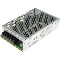 Měnič napětí SD-50C-12 se vstupním variabilním napětím 36 až 72V DC, výstupním napětím 12VDC a celkovým výkonem 50W.
