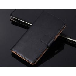Pouzdro Nokia Lumia 520 - černá kůže