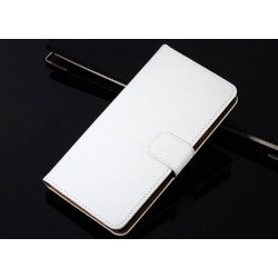 Pouzdro Nokia Lumia 520 - bílá kůže