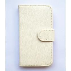 Pouzdro Samsung Galaxy Express i8730 - bílá kůže