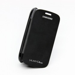 Housing Flip Cover Samsung Galaxy S3 Mini i8190 - Black
