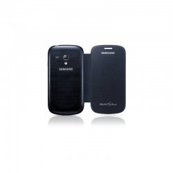 Housing Flip Cover Samsung Galaxy S3 Mini i8190 - dark blue