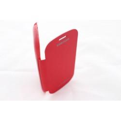 Pouzdro Flip Cover Samsung Galaxy S3 Mini i8190 - červené