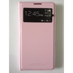 Pouzdro Flip Samsung Galaxy S4 i9500 - Světle růžová
