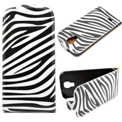 Pouzdro Samsung Galaxy S5 i9600 - Zebra
