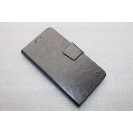 Leather case Samsung i9600 Galaxy S5 - Black