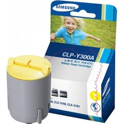 Samsung CLP-Y300A - originální toner (Žlutý), 1000 stran, CLP-300, CLX-2160, CLX-3160