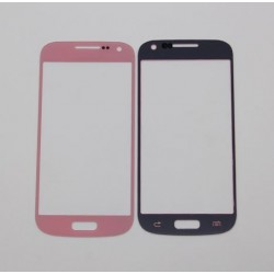 Samsung Galaxy S4 mini i9190 i9195 - Pink touch layer touch glass touch panel