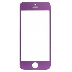 Apple iPhone 5 5S - Fialová dotyková vrstva, dotykové sklo, dotyková deska - OEM