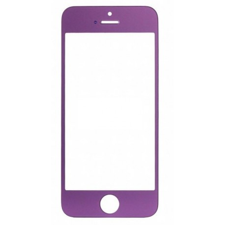 Apple iPhone 5 5S - Purple touch screen, touch glass touch panel