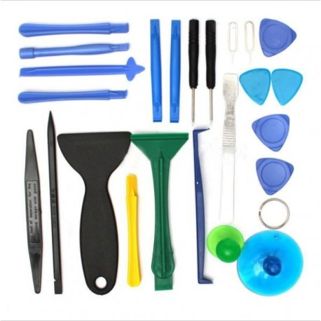 A set of tools for repairing mobile phones - 25 in 1