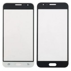 Samsung Galaxy J3 - Black / White touch film, a touch glass touch plate