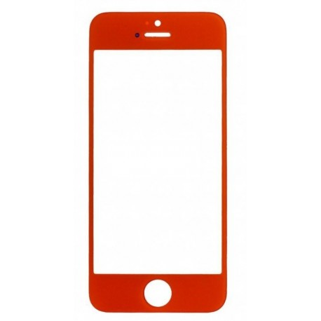 Apple iPhone 5 5S - Red touch screen, touch glass touch panel