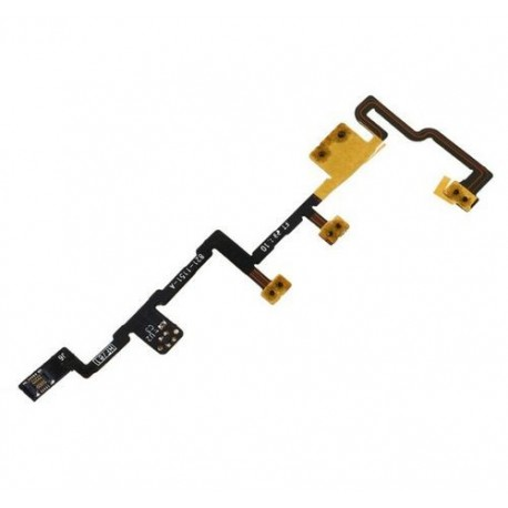 Flex Cable with On-button and volume control iPad 2