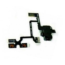 Flex cable with audio jack + mute switch and volume control iPhone 4 4G