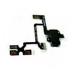 Flex kabel + audio jack konektor + přepínač mute a ovládání hlasitosti iPhone 4 4G