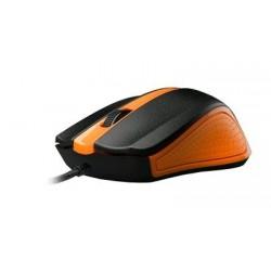 Myš C-TECH WM-01 oranžová