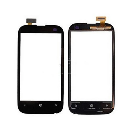 The touch layer Nokia Lumia 510 Black - Windshield + flex