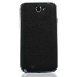 Samsung Galaxy Note 2 N7100 - Rear cover - Black / black