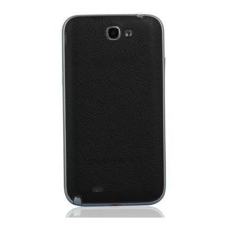 Samsung Galaxy Note 2 N7100 - Rear cover - Black / black