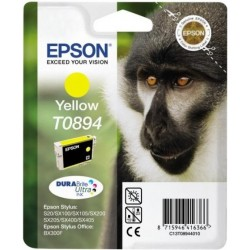 Originální inkoustová žlutá náplň Epson T0894, 180 stran, Stylus SX115, SX218, SX415