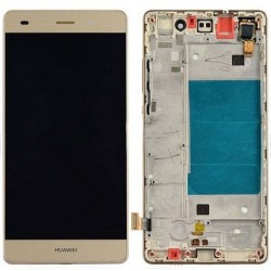 LCD screen + touch with boundary layer Huawei Ascend P8 Lite 2015 - Gold