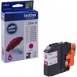 Brother originální cartridge LC-225XLM, červená, 1200str., Brother MFC-J4420DW, MFC-J4620DW