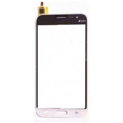 Samsung Galaxy J3 J320 (2016) Duos - Čierna / biela dotyková vrstva + digitizér