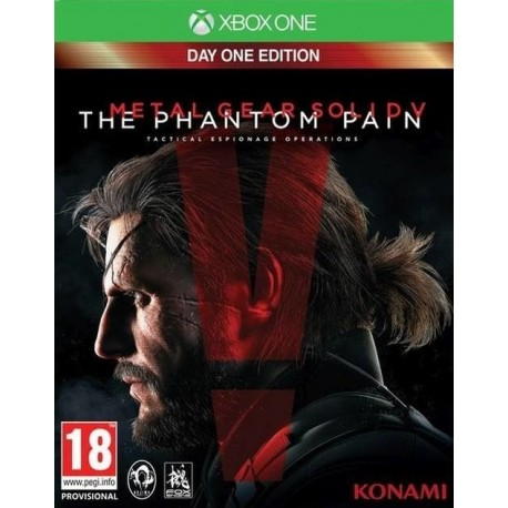 Metal Gear Solid V: The Phantom Pain - Xbox One - boxed version