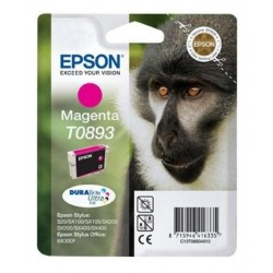Originální cartridge EPSON T0893 pro Stylus SX115, SX218, SX415 - purpurová, 155 stran
