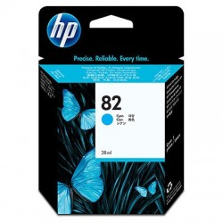 HP 82 Cyan Cartridge (C4911A) - Original