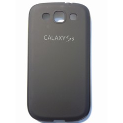 Samsung Galaxy S3 i9300 - Black rear aluminum battery cover with frame
