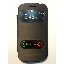 Samsung Galaxy S3 Mini i8190 - flip S-View, Barva: Černá