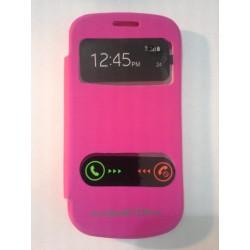 Samsung Galaxy S3 Mini i8190 - flip S-View, Barva: Růžová