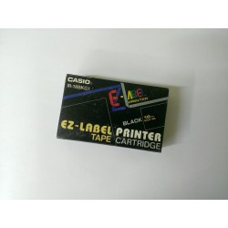 CASIO IR-18BKG1. Black background / font gold, 18 mm - the original tape to the label printer