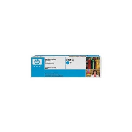 HP C8551A - Original Blue Toner