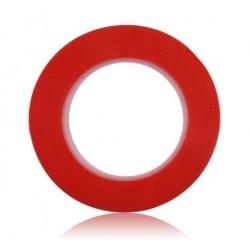 Obojstranná lepiaca páska, šírka: 2mm, dĺžka: 25m