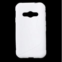 Protiskluzové gelové pouzdro pro Samsung Galaxy Xcover 3 G388F G389F, Barva: Bílá