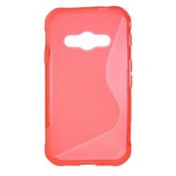 Protiskluzové gelové pouzdro pro Samsung Galaxy Xcover 3 G388F G389F, Barva: Růžová