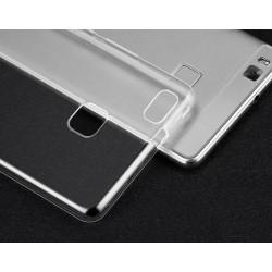 Zadní silikonový kryt baterie Huawei P9 Lite - průhledný