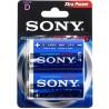Sony AM1B2D Stamina Plus, size D, 2pcs
